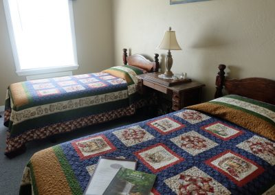 Americana Bedroom in Seams Like Home bed and breakfast