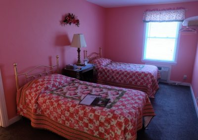 Hydrangea Bedroom in Seams Like Home bed and breakfast