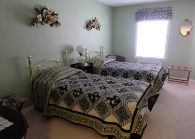 Magnolia Bedroom in Seams Like Home bed and breakfast