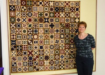 Stellas Quilt in Quilting Retreats Seams Like Home B&B