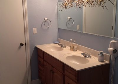Americana Suite Vanity in Seams Like Home bed and breakfast