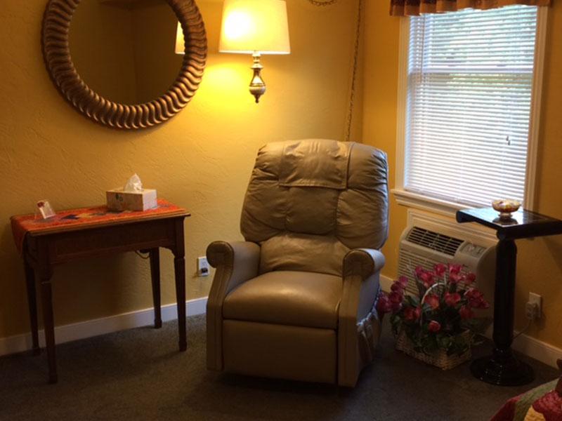 Garden Room Reading Book in Vanderbilt, PA Bed and Breakfast