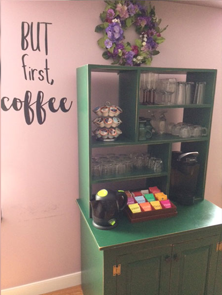 Coffee in Vanderbilt, PA Bed and Breakfast